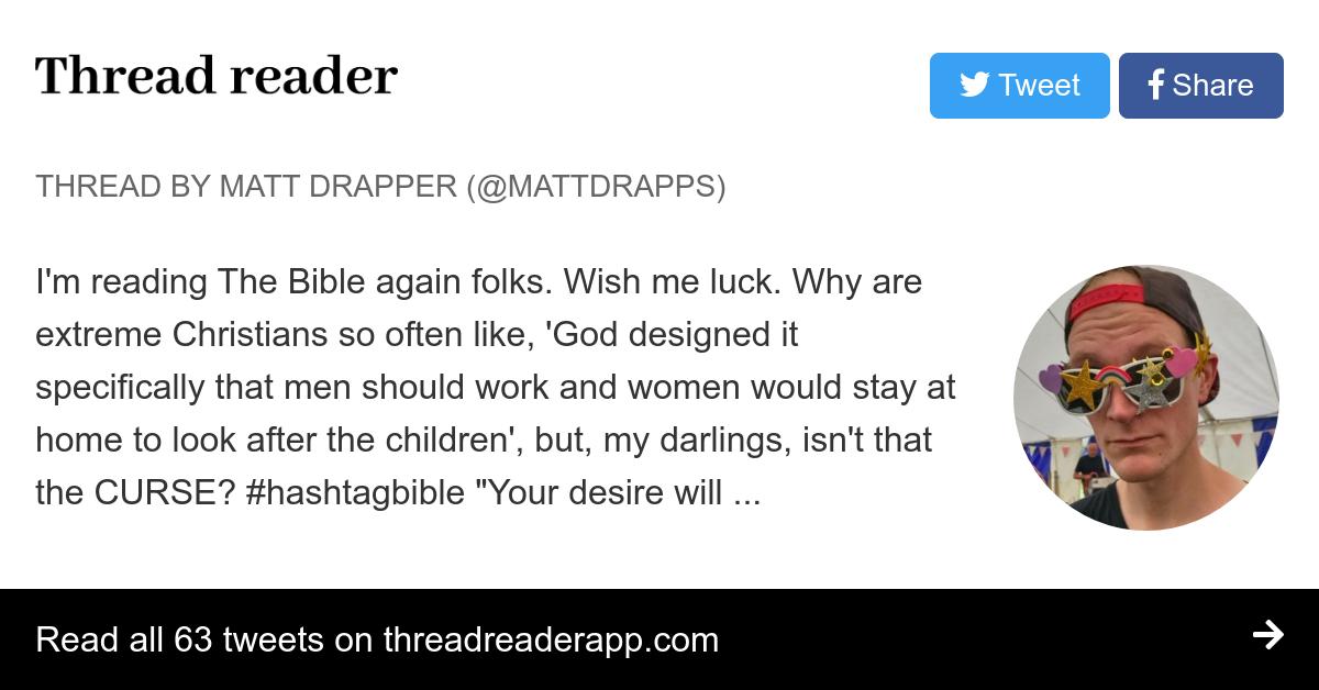 Thread by @MattDrapps: