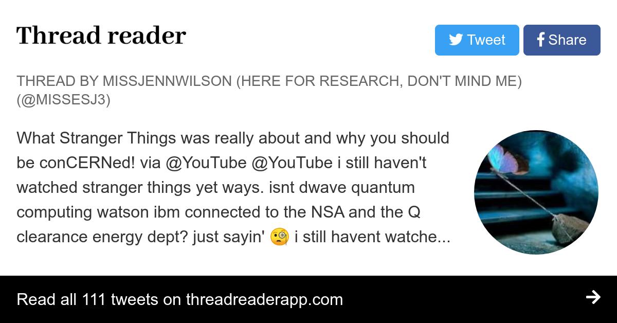 Thread by @MissesJ3: