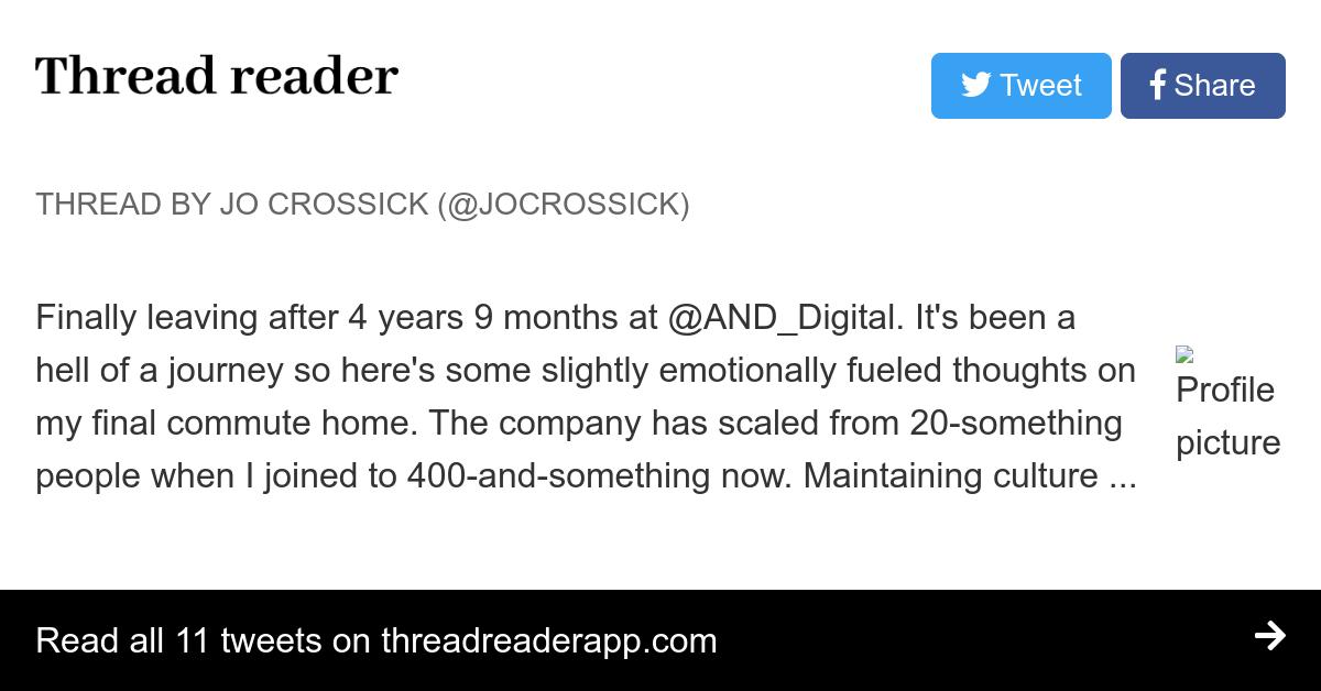 Thread by @jocrossick: