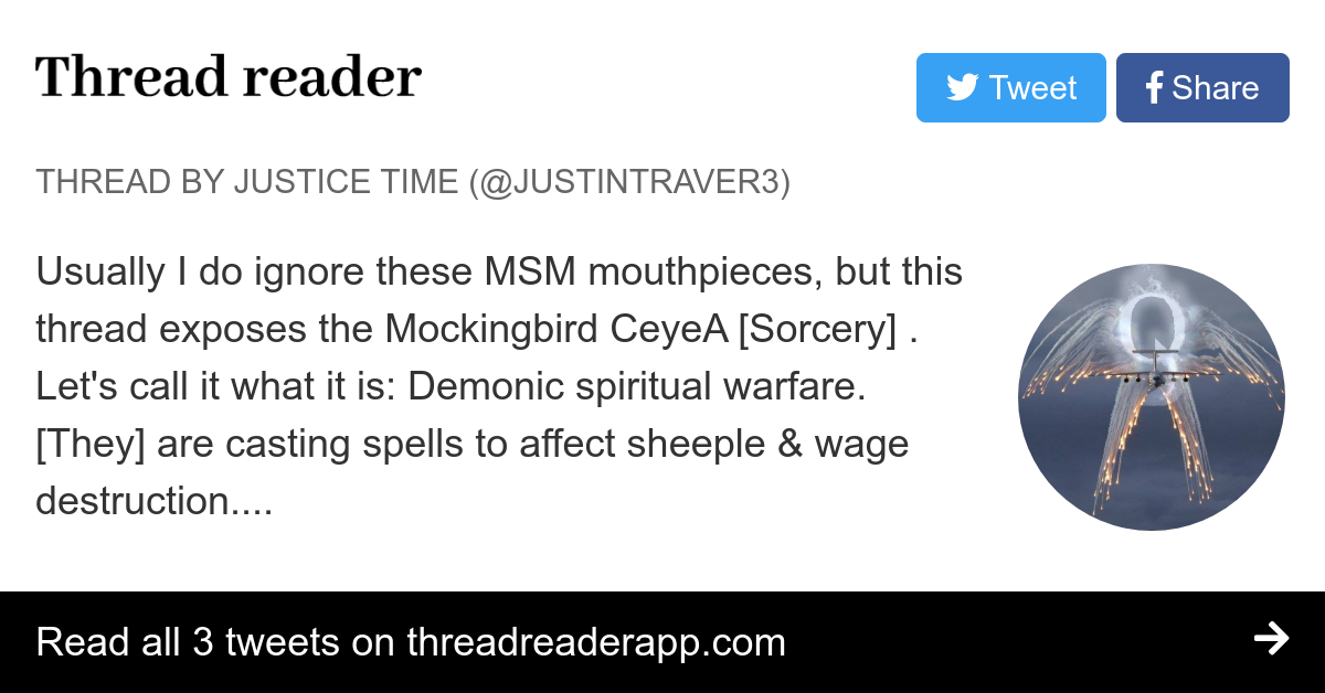Thread by @JustinTraver3: