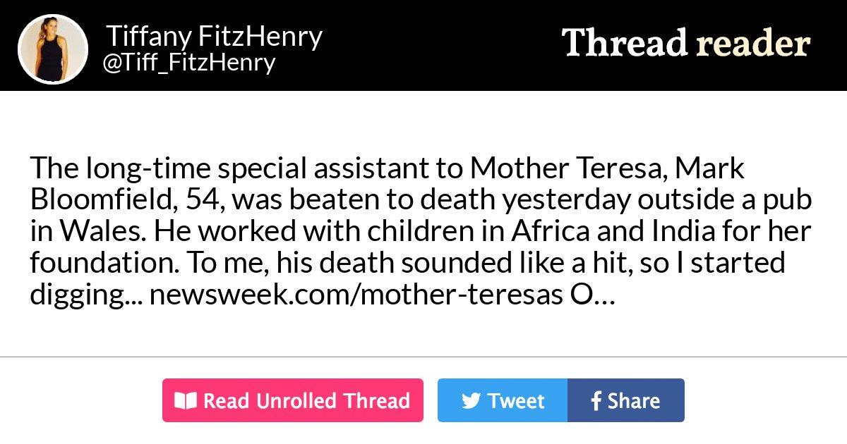 Thread by @Tiff_FitzHenry:
