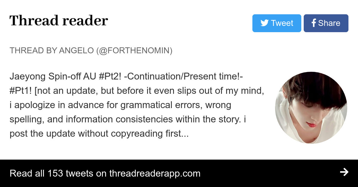 Thread by @forthenomin: