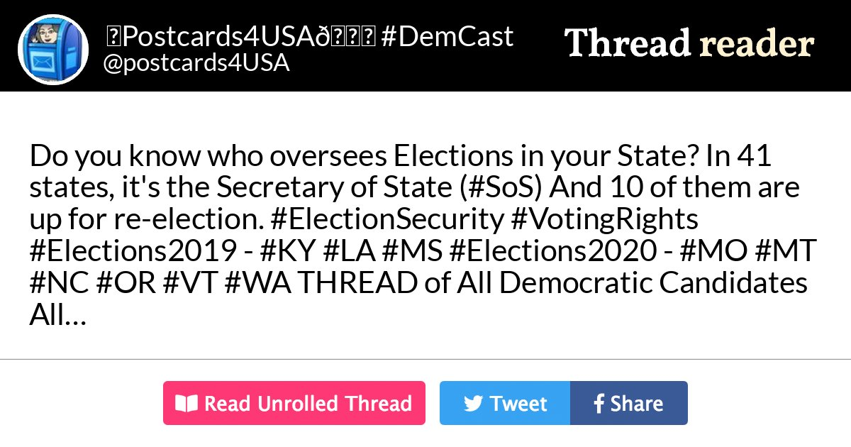 Thread by @postcards4USA: