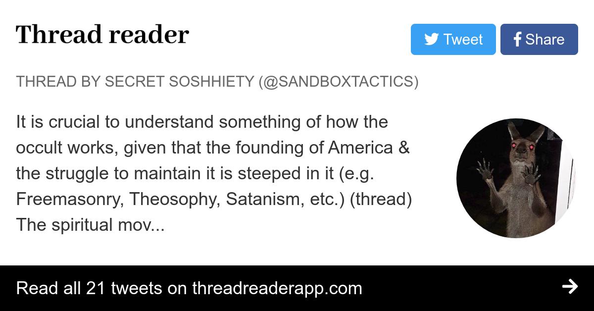 Thread by @sandboxtactics: