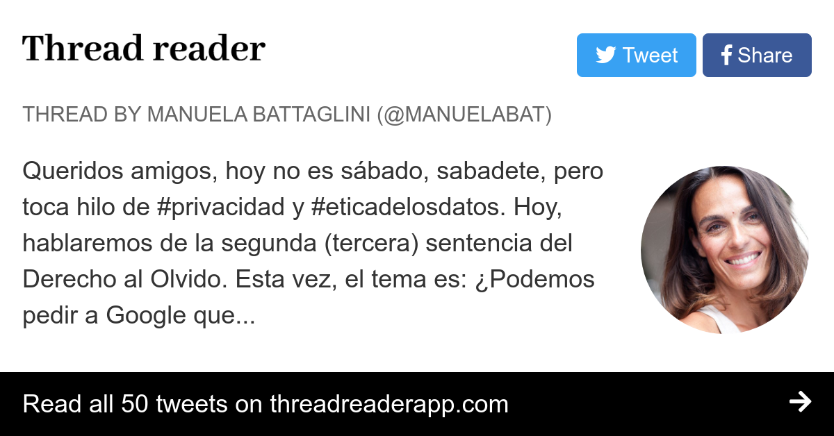 Thread By At Manuelabat Queridos Amigos Hoy No Es Sábado