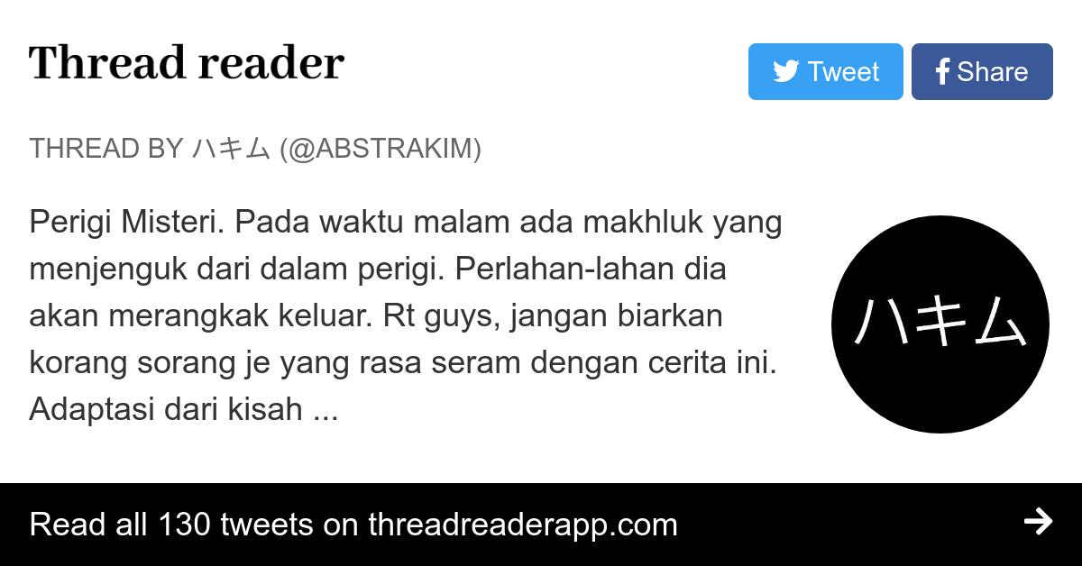 Thread by @abstrakim:
