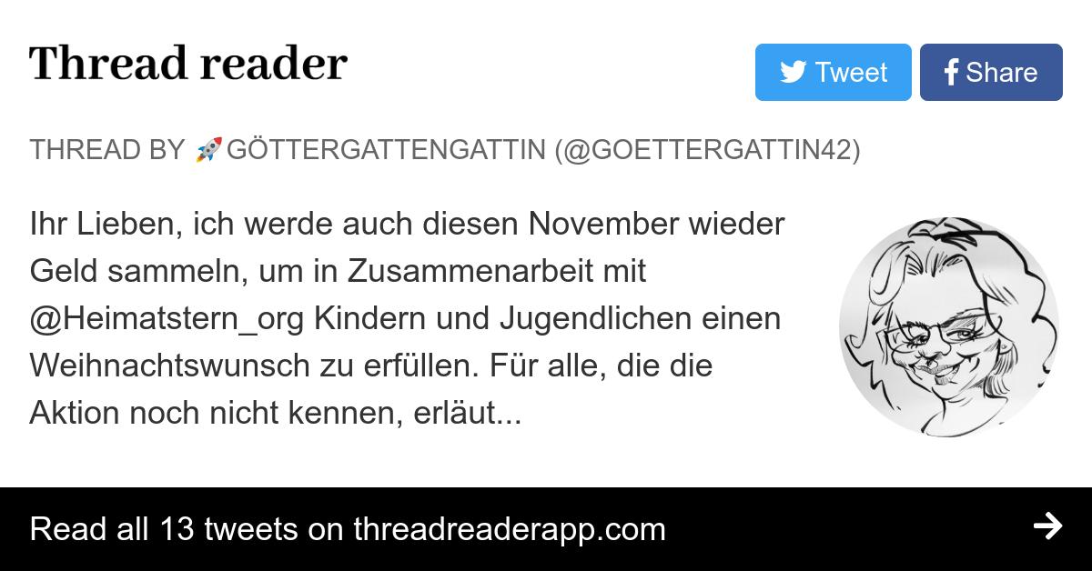 Thread By At Goettergattin42 Ihr Lieben Ich Werde Auch