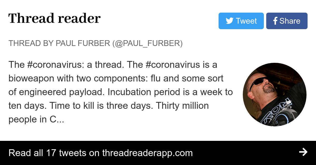 coronavirus is bioweapon