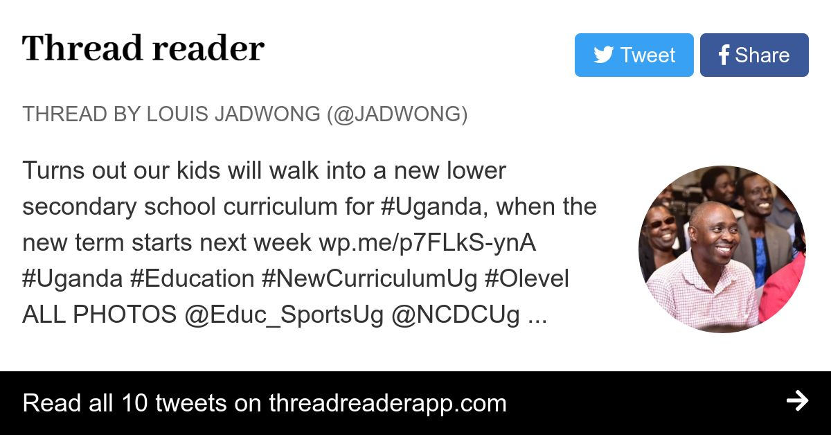 Thread by @Jadwong: Turns out our kids will walk into a ...