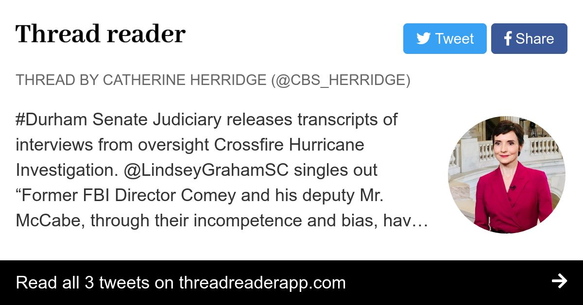 Thread by @CBS_Herridge on Thread Reader App