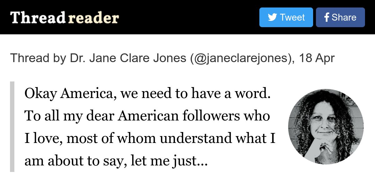 Thread by @janeclarejones on Thread Reader App