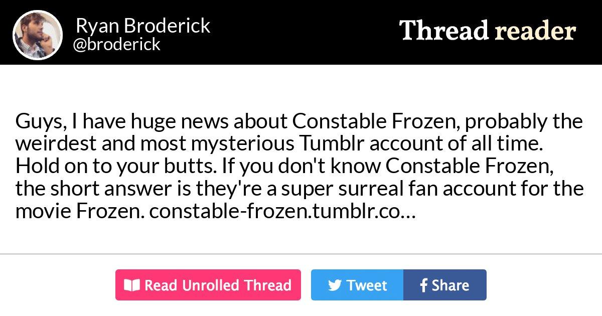 Frozen Brave Porn - Thread by @broderick: \