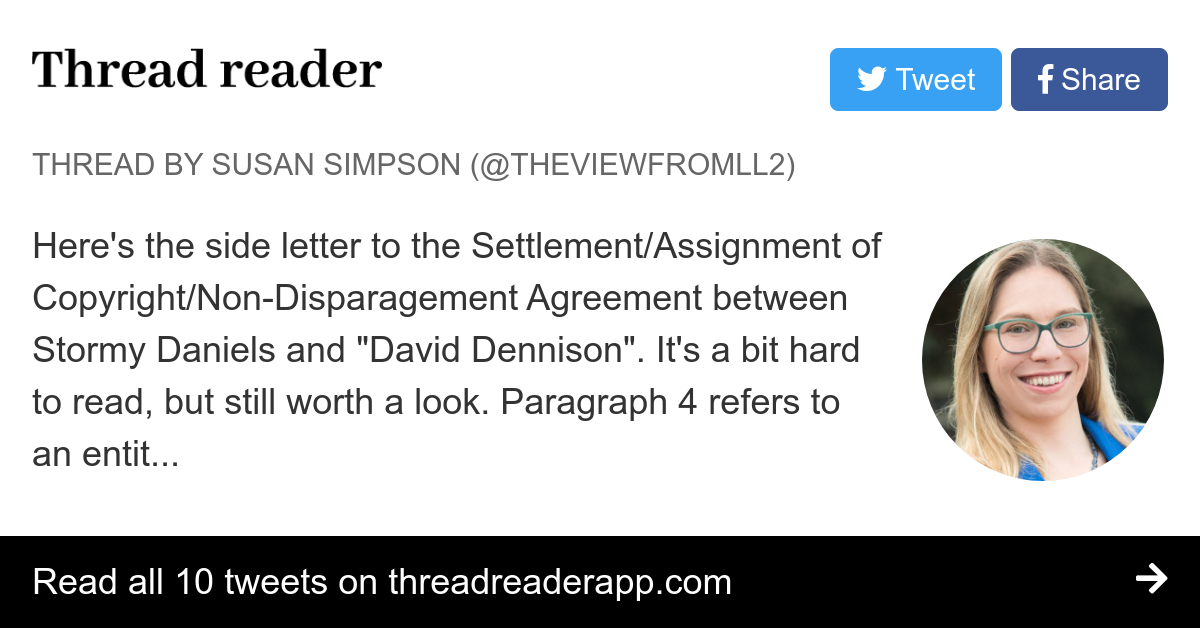 Thread By Theviewfromll2 Heres The Side Letter To The Settlement