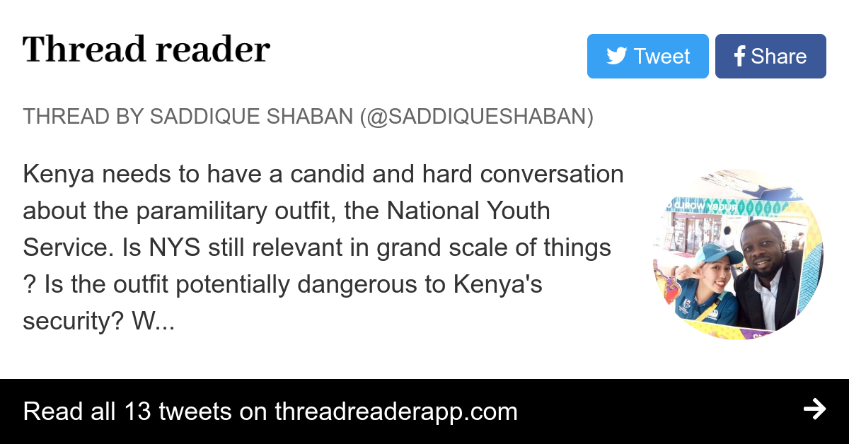 Thread by @SaddiqueShaban: