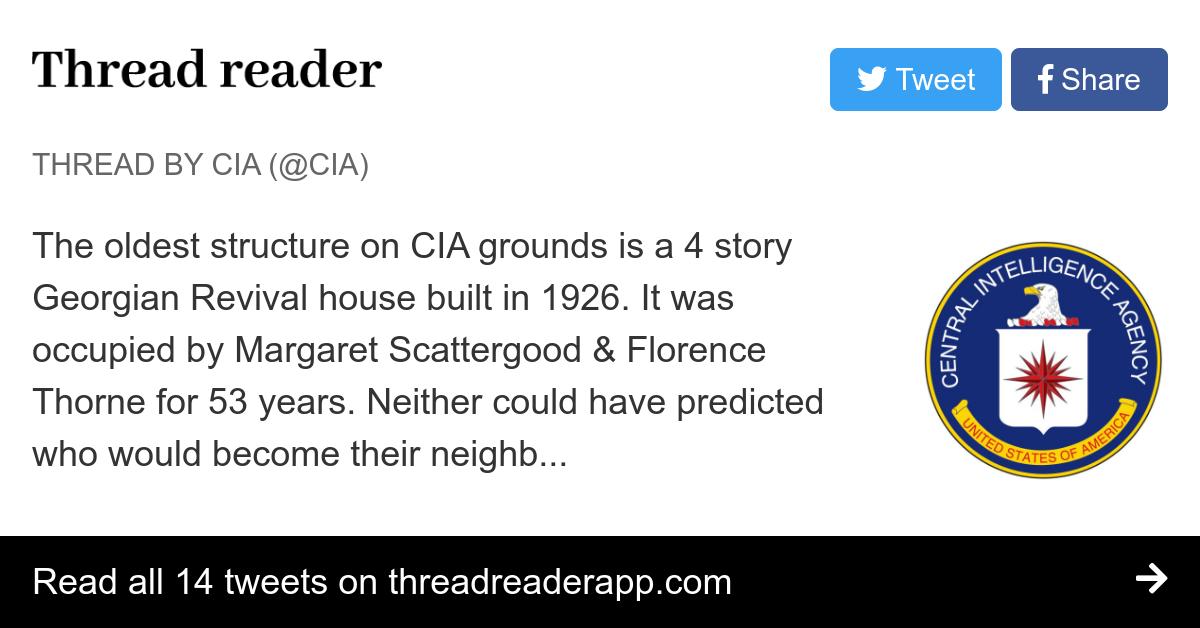 Thread by @CIA: