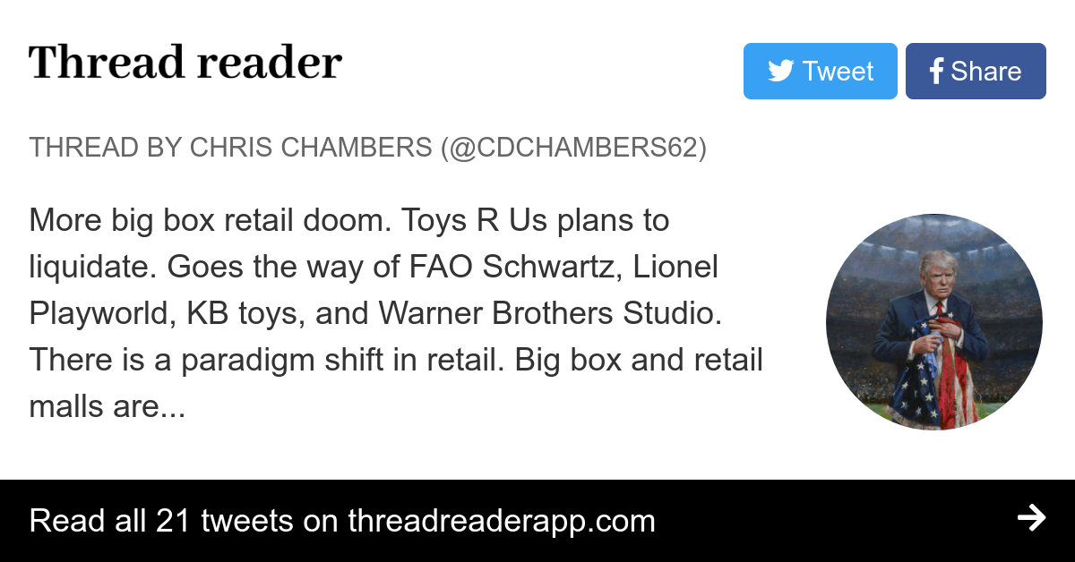 Thread by @CDChambers62: