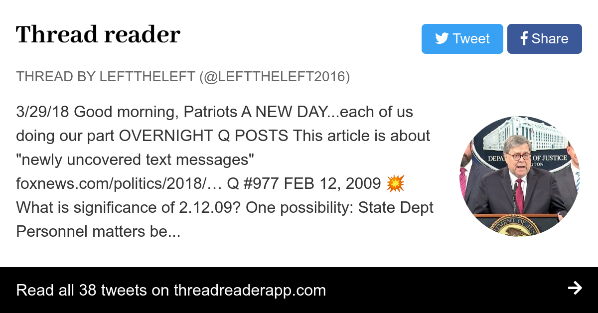 Thread by @LeftTheLeft2016: