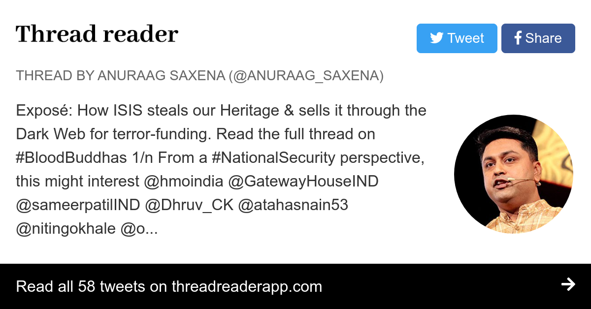 Thread by @anuraag_saxena: