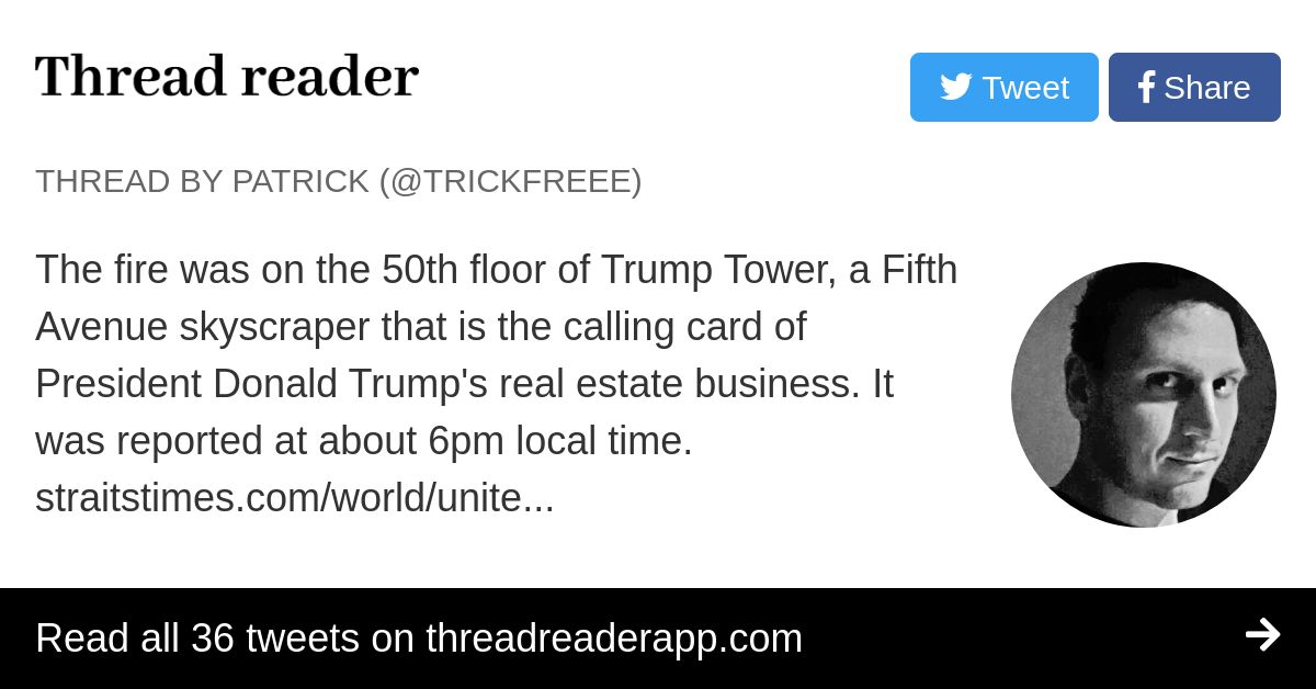 Thread by @TrickFreee: \