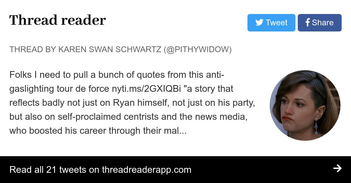 Thread by @pithywidow: