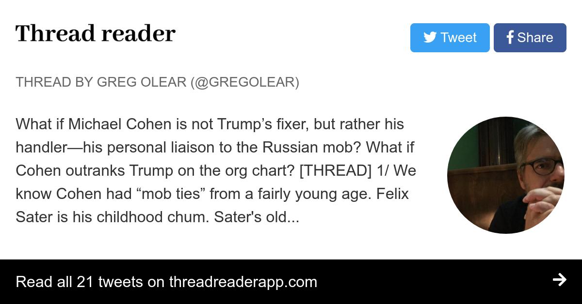 Thread by @gregolear: