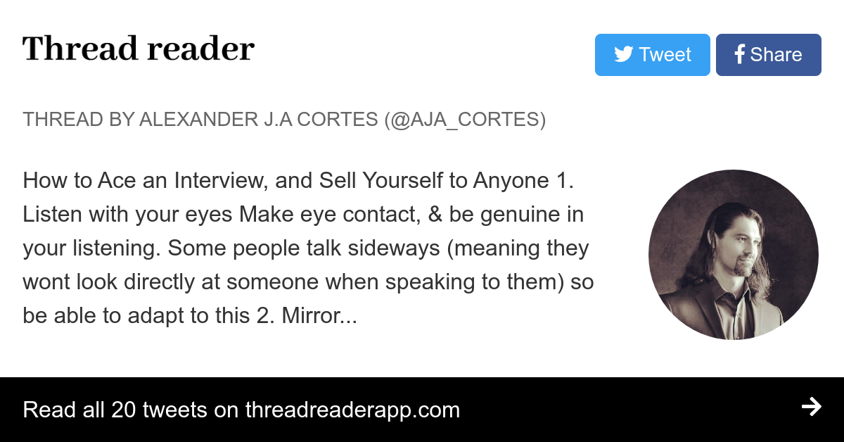 Thread by @AJA_Cortes: